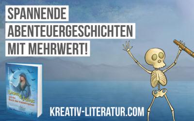 """Spannende Abenteuergeschichten mit Mehrwert: """"Diana&Julius und das Buch der Katastrophen"""""""